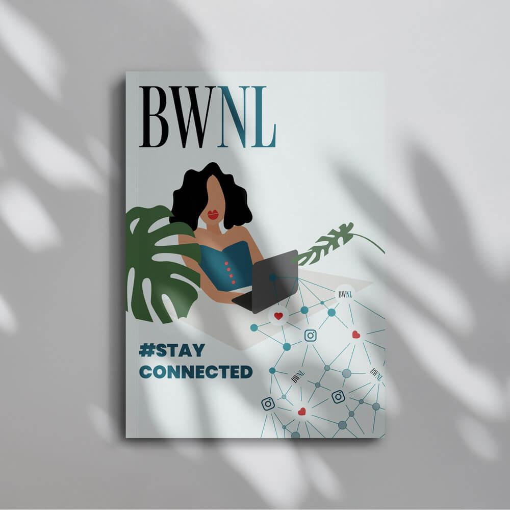 Illustratie Cover Business Women Nederland Club Magazine