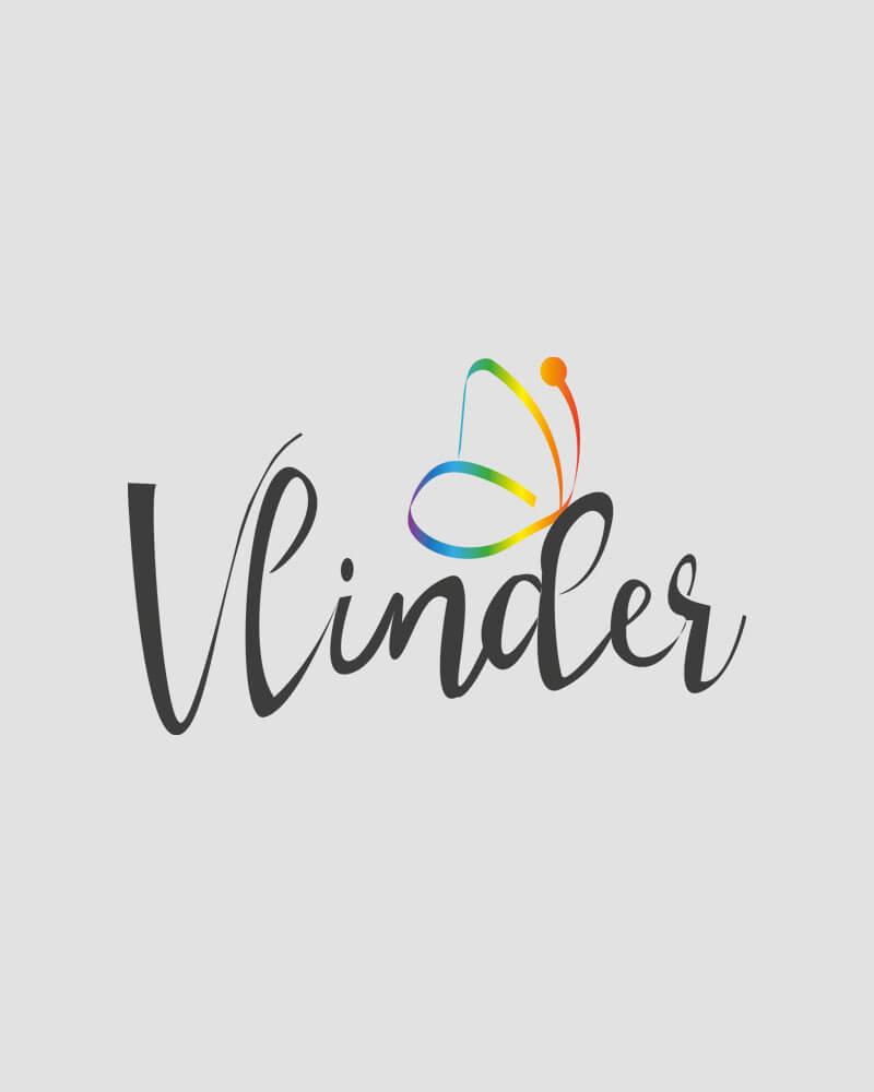 Logo Ontwerp Vlinder