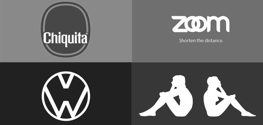 Bekende merken hebben een tijdelijk logo vanwege het coronavirus