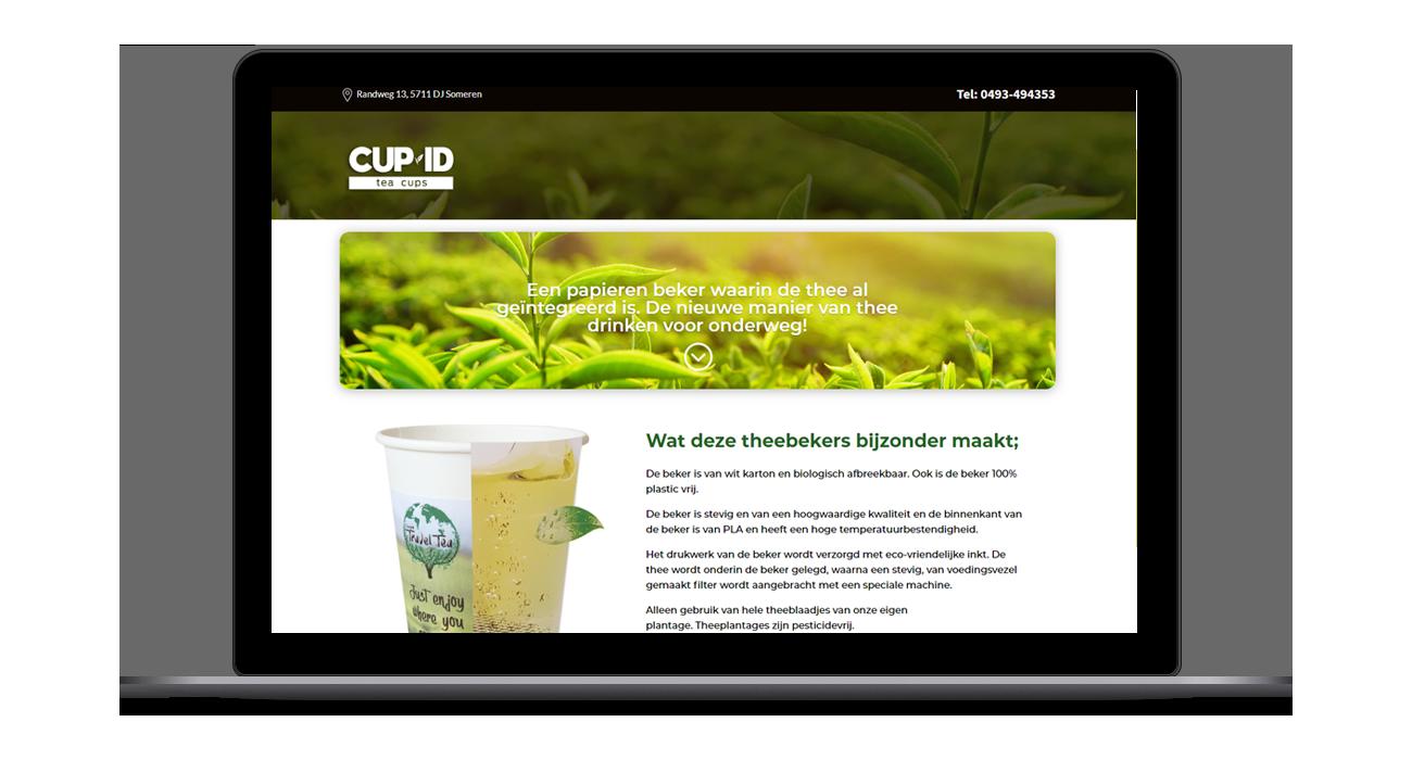 Cup-ID Ontwerp Website