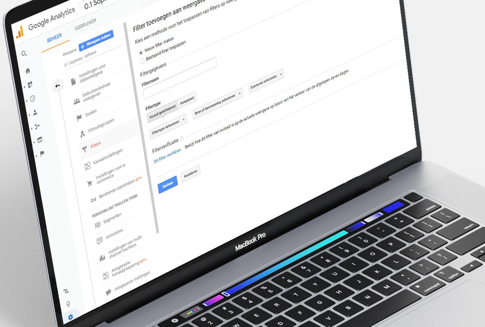 Hoe filter je jezelf uit de statistieken van Google Analytics?