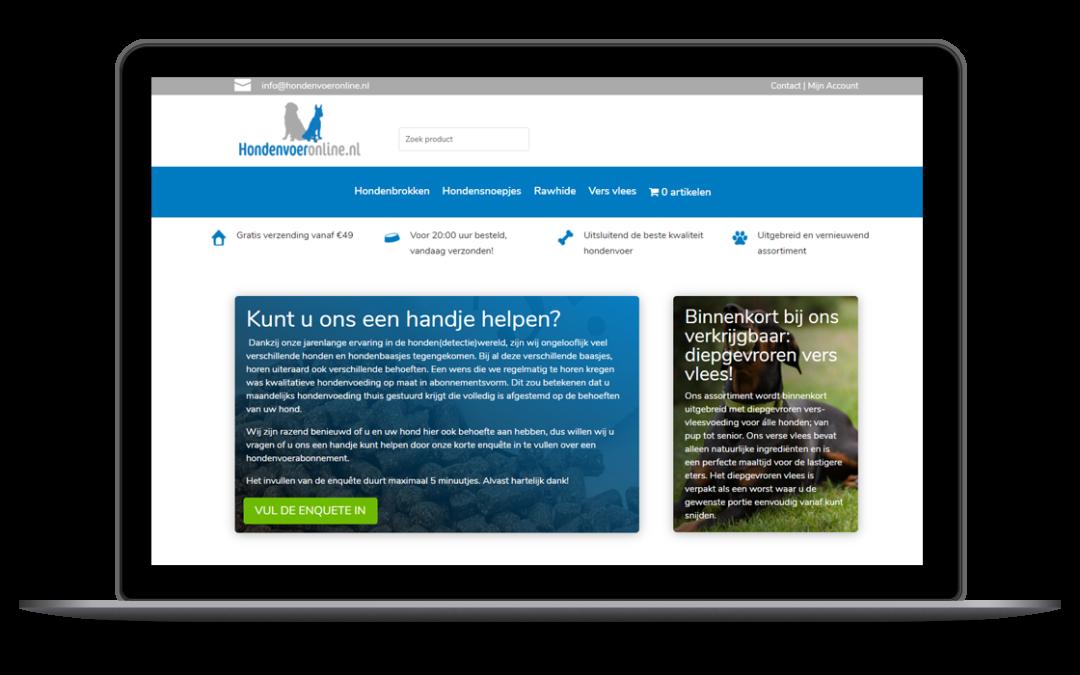 Hondenvoer Online